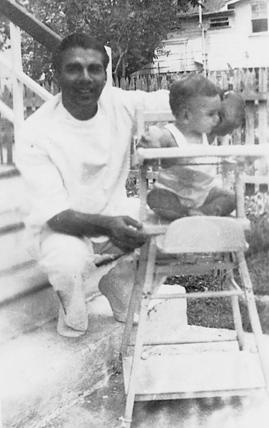 Dr. Jagan with his son