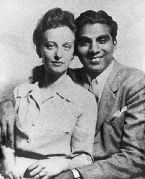 Cheddi & Janet wedding photo 1943
