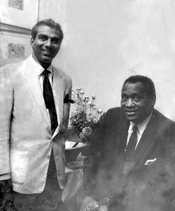CJ with Paul Robeson
