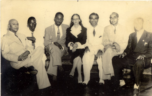 1953 Cabinet with Janet Jagan