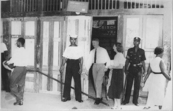 "JJ watches on as ""Thunder"" headquarters is shut down in 1953"
