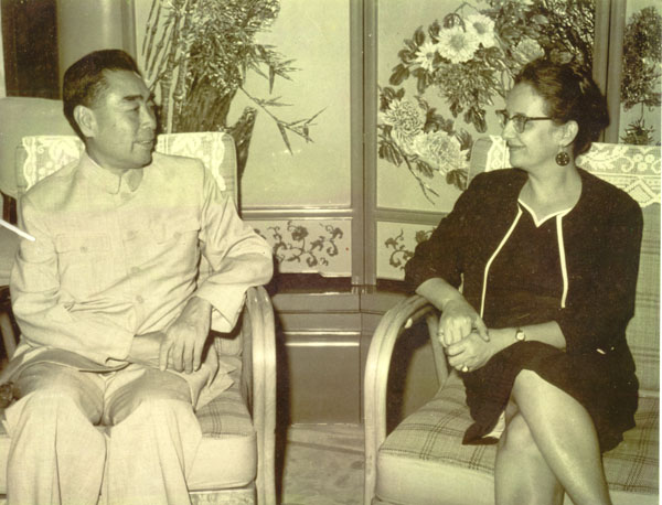 JJ in China meeting Prime Minister Chow-en-Lai in 1962